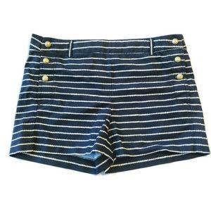 Cynthia Rowley Mini Sailor Shorts 4 Nautical Navy